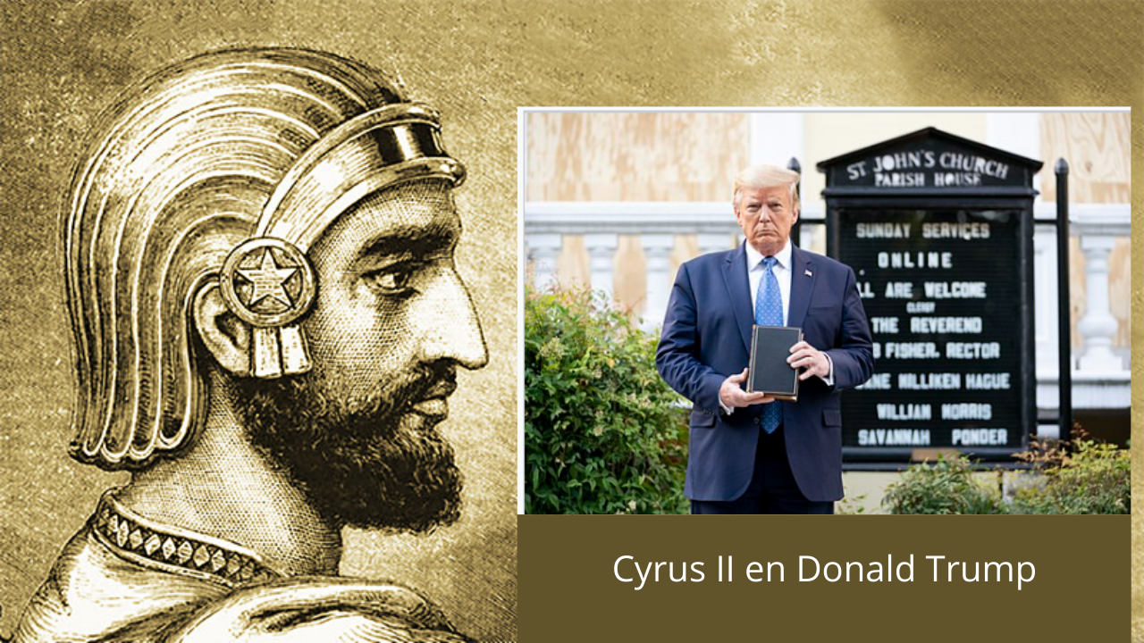 Cyrus II en Donald Trump